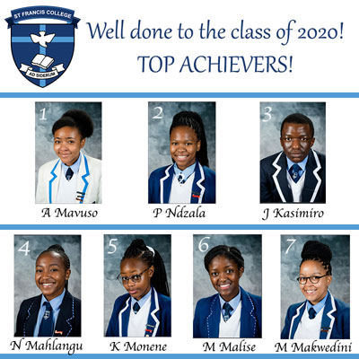 st francis top 10 matric results